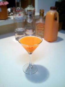 Tangerine Cream Martini